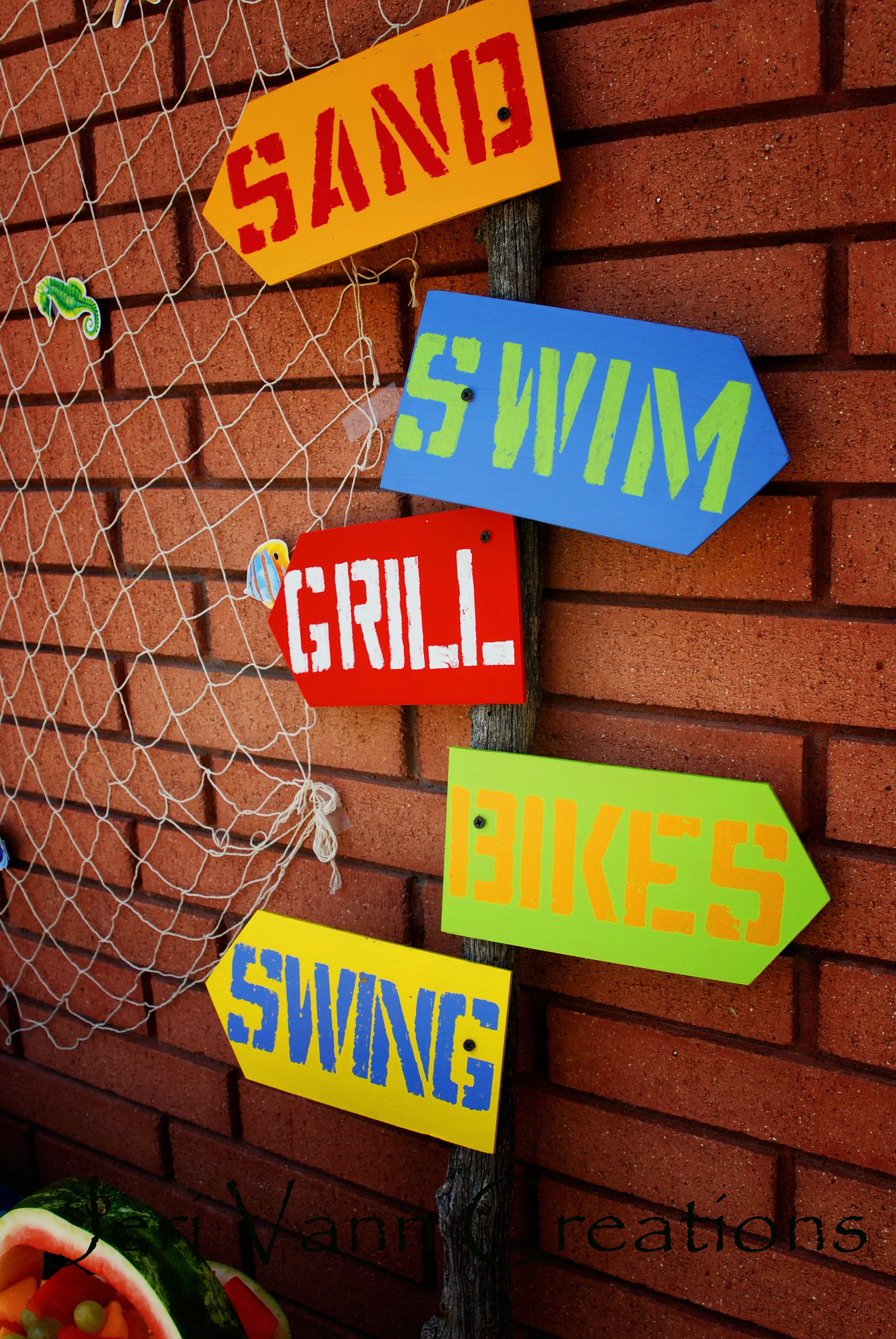 Pool Party Ideas For Kids Decoration