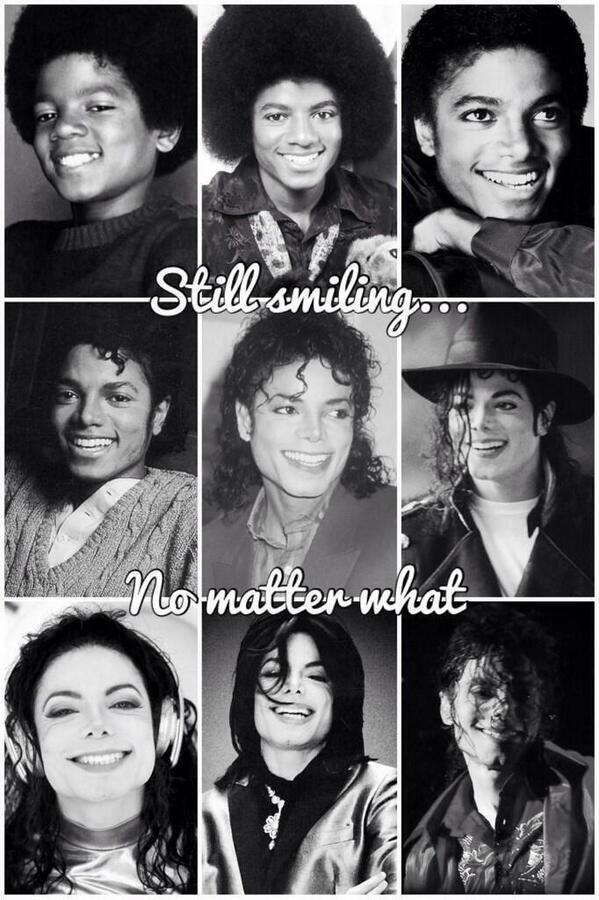 Four Decades Of Michael The Most Beautiful Smile In The World