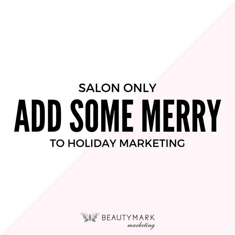 As The Holidays Quickly Approach Many Salon And Spa Owners