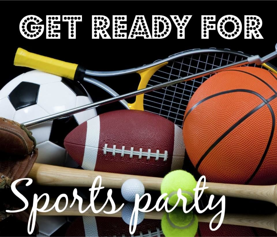 Pin by Juliana RW on Happy selling in 2020 Sports party