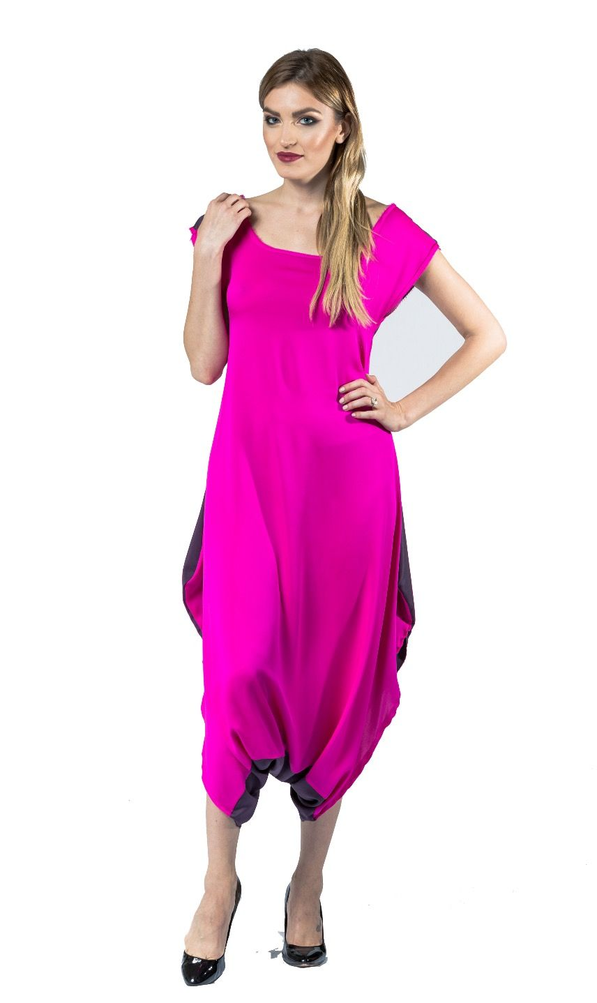 Pink Long Romper