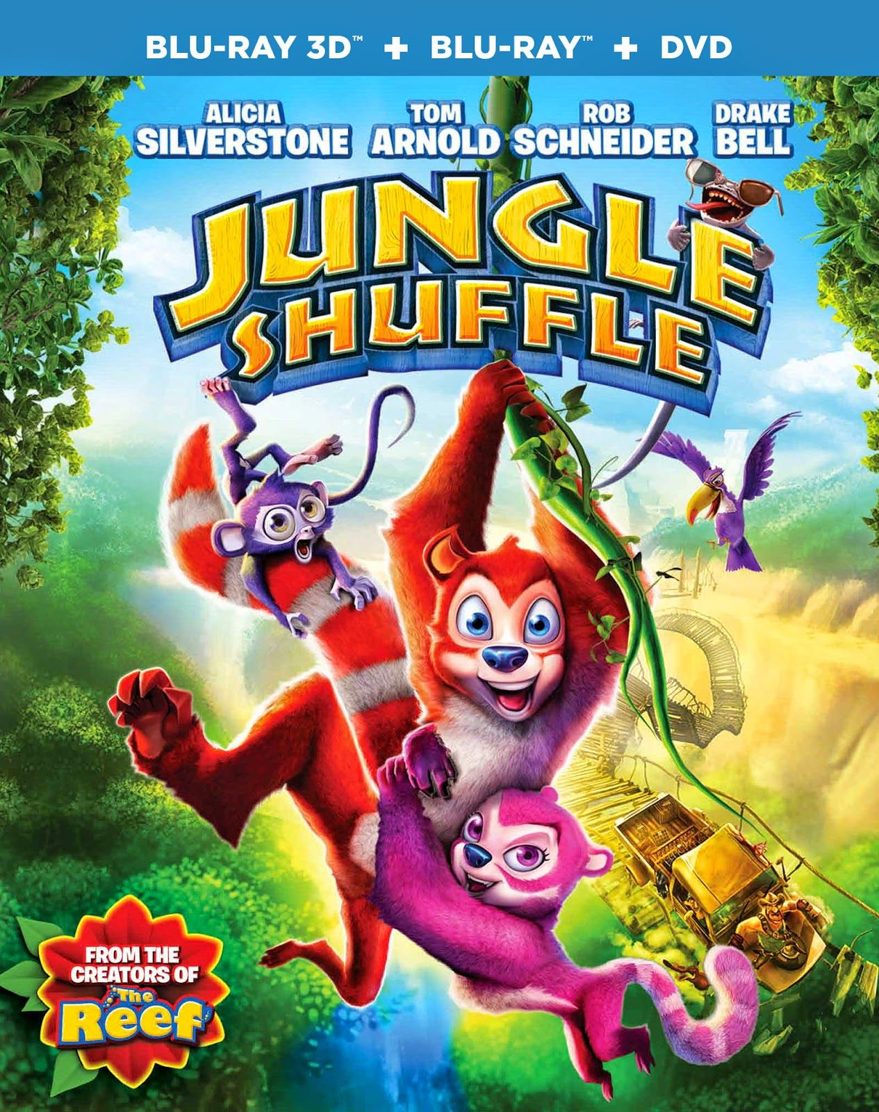 Jungle Shuffle BluRay Combo Pack Review + Giveaway
