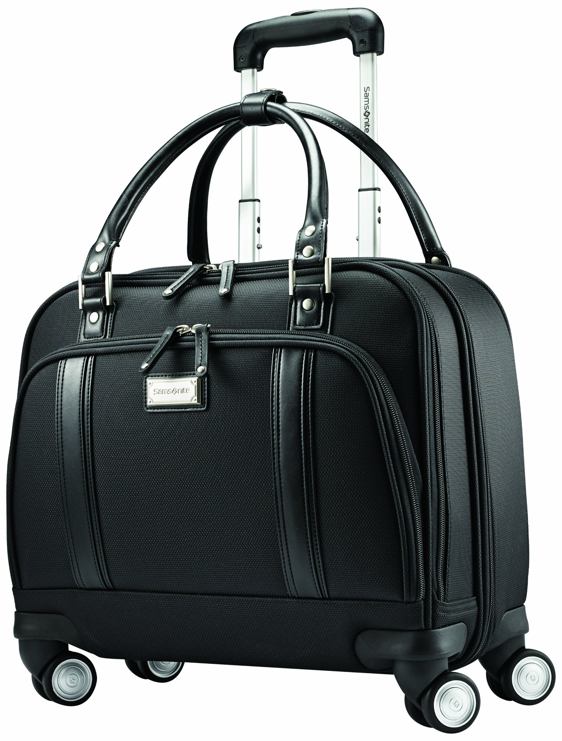 8cc7ce148 Samsonite Luggage Women's Spinner Mobile Office, Black, One Size ...