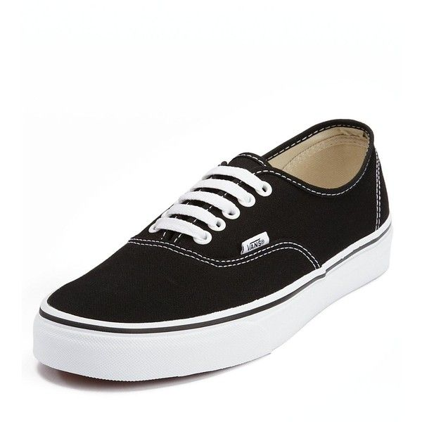 Vans Authentic Plimsolls ($50) ❤ liked on Polyvore