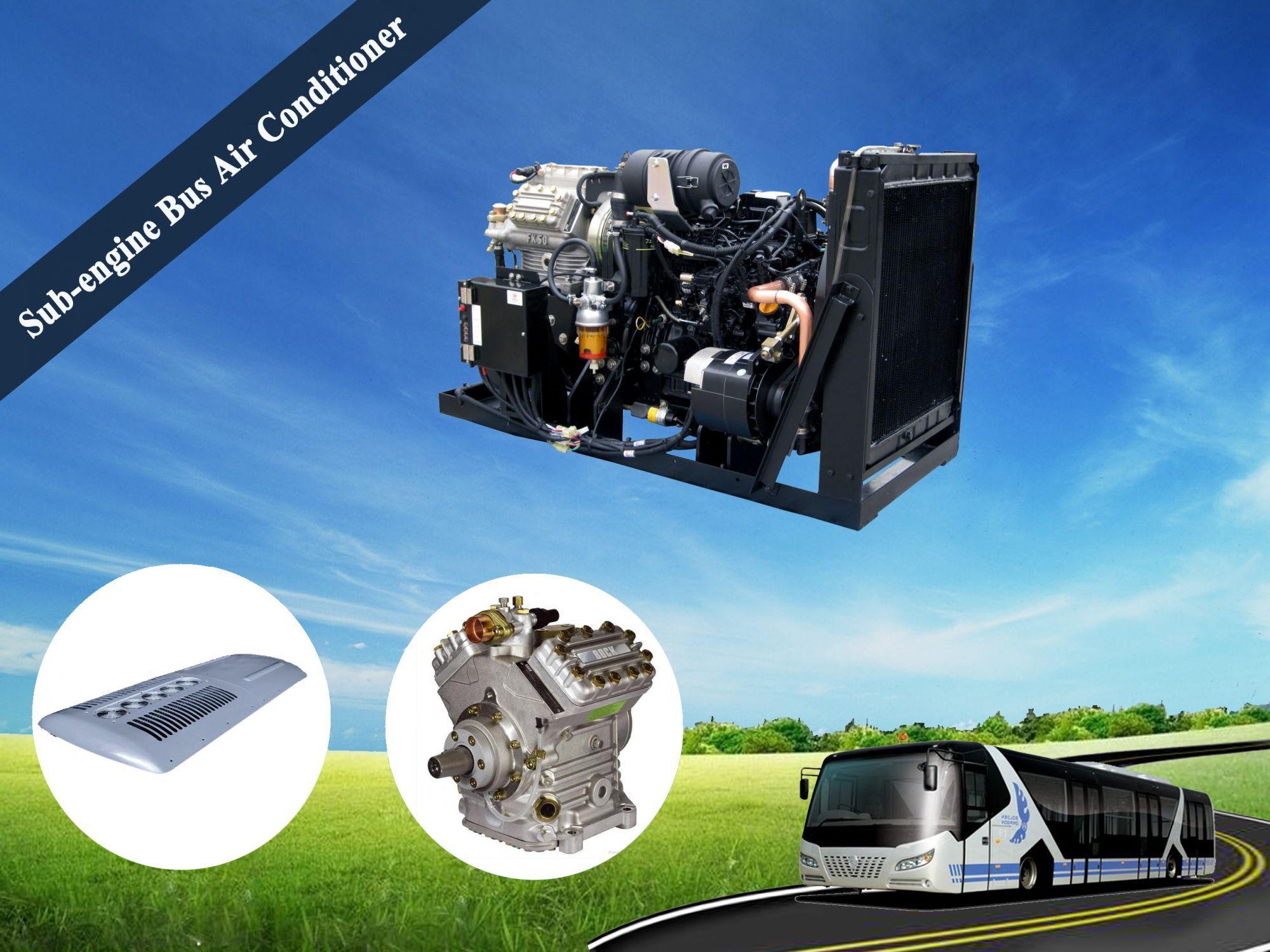 Sub Engine Bus Air Conditioner Bus Air Conditioner Air Conditioner Air Conditioning System Engineering