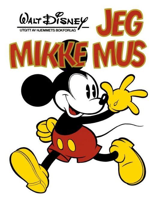 Detaljer for Kjempebøker (Jeg bøkene) Jeg mikke mus 1976