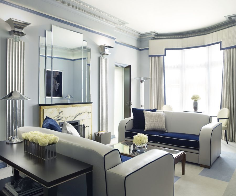 The Linley Suite, Claridgeu0027s, London My Bags Are Here....Lovely. Art Deco  Living RoomLiving Room FurnitureArt ...