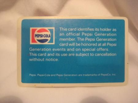 vintage PEPSI soda cola Come Alive generation MEGEPHONE CONE