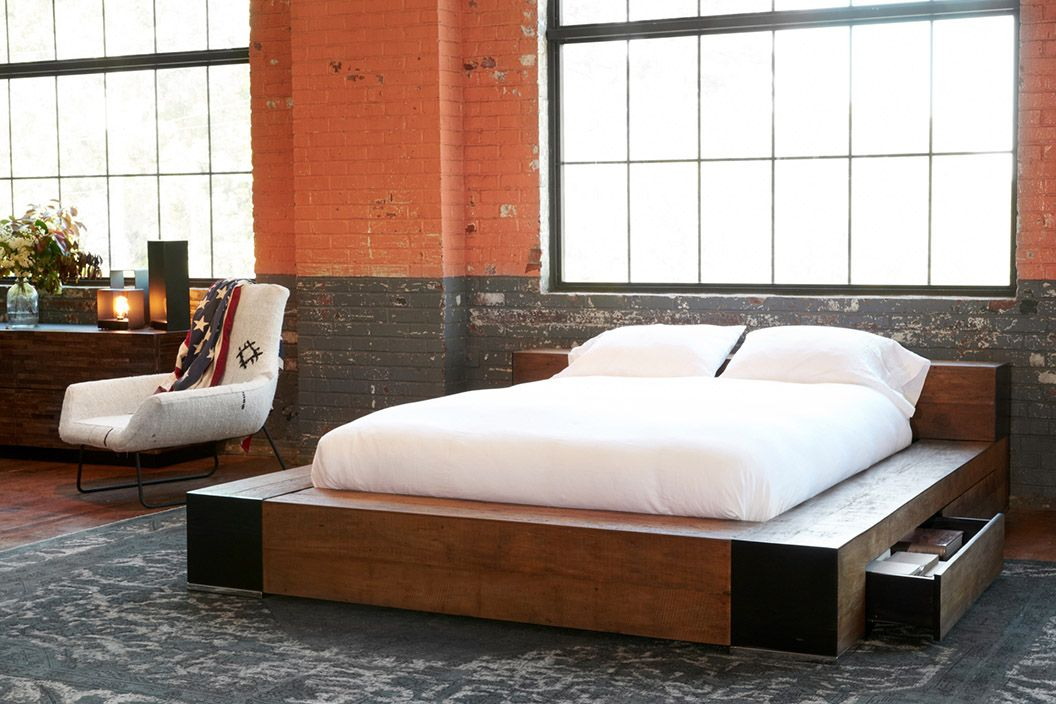 Sweet Dreams In Rustic Beauty Cisco Brothers Edge Bed Is Low