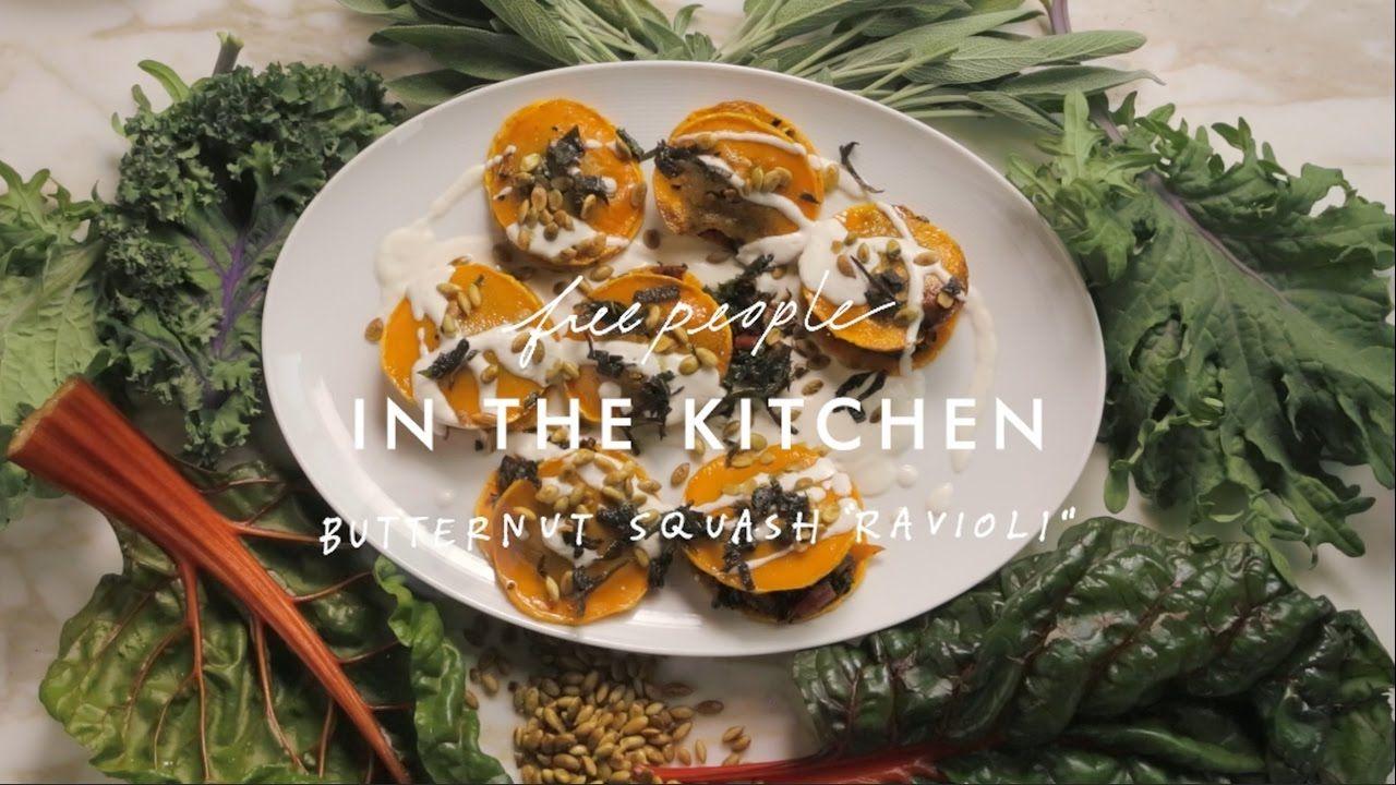 In The Kitchen: Butternut Squash Ravioli