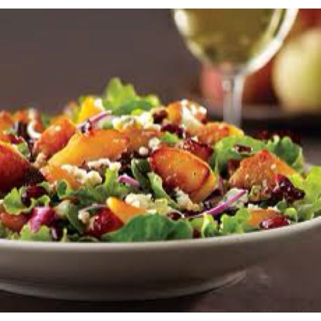 Awe Inspiring Caramelized Peach Salad California Pizza Kitchen Field Interior Design Ideas Skatsoteloinfo