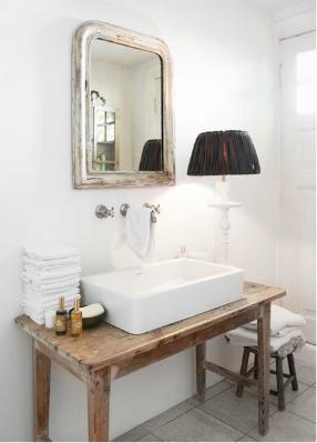 salle de bain meuble sous vasque | loft | pinterest | sinks, bath ... - Meuble Vasque Salle De Bain Original