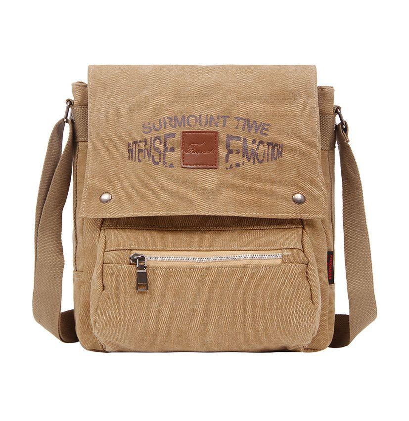 bada943146 Sale 17% (20.56 ) - Men Canvas Outdoor Sport Shoulder Bag Travel Crossbody  Bag