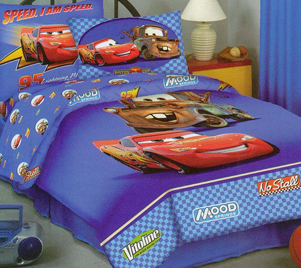 LIghtning McQueen Bedding Set   Disney Cars Comforter Sheet Set   Twin Bed. LIghtning McQueen Bedding Set   Disney Cars Comforter Sheet Set