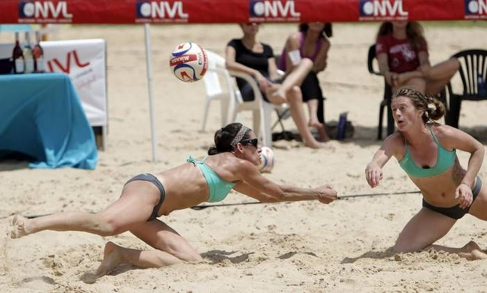 Photos The Best Shots From National Volleyball League Pro Beach Tournament At Yucatan Beach Club Dallas Morning News Beach Volleyball Beach Club Photo