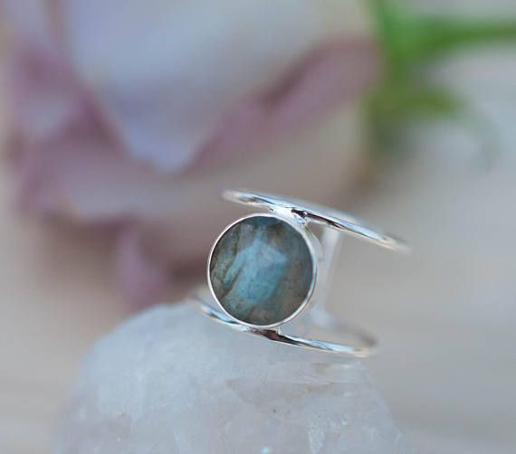Labradorite Ring,Sterling Silver Ring,Statement Ring,Gemstone Ring,Labradorite,Bridal Ring,Wedding Ring,Organic Ring,handmade ring,rings