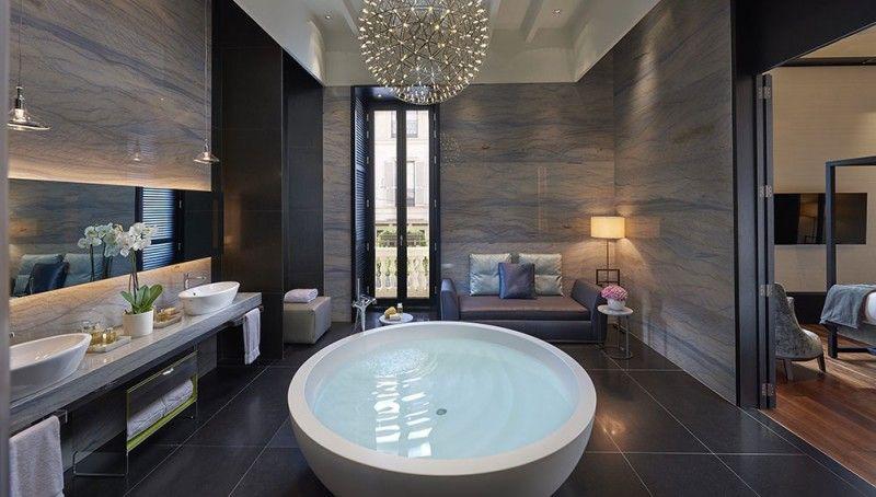 Sneak k: Mandarin Oriental, Milan | Luxury Travel | Bathroom ...