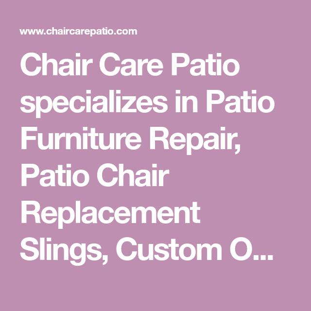 Patio Furniture Repair Dallas Tx