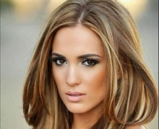 Best Colors For Brown Eyes Hair Color With Fair Olive Medium Skin Tone Hairstyle Pinterest
