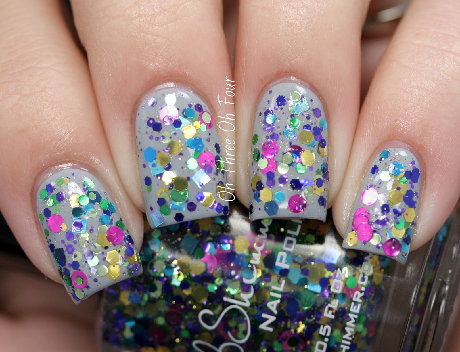 KBShimmer Spring 2014 Collection: Glitter Mixes and Holos Reviews