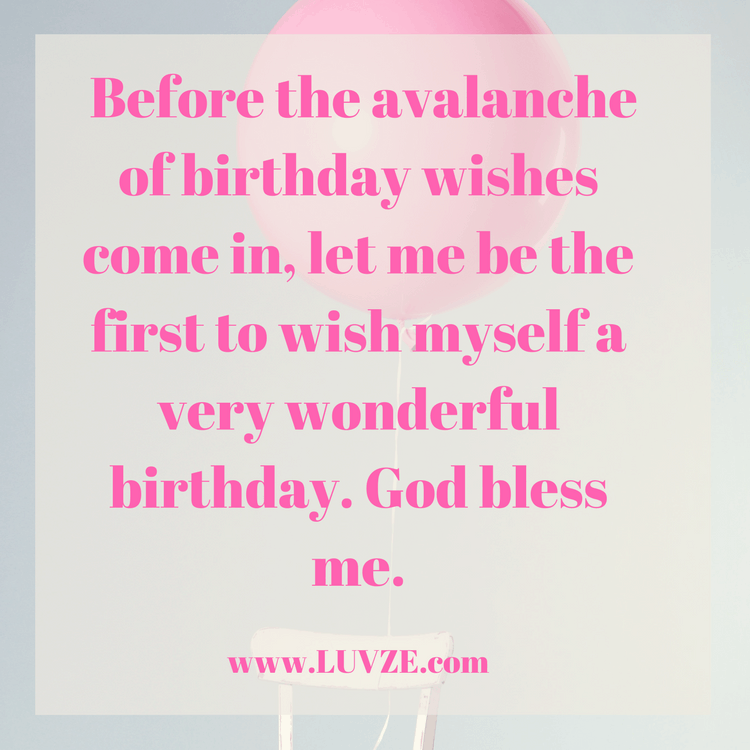 Amazing 130 Happy Birthday To Me Quotes Wishes Sayings Messages With Personalised Birthday Cards Paralily Jamesorg