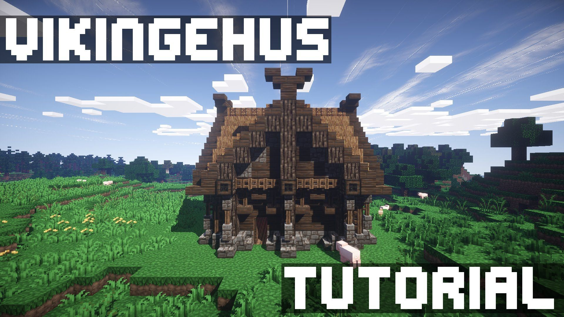 Danish Minecraft Viking House V Tutorial Minecraft - Minecraft grobe hauser download
