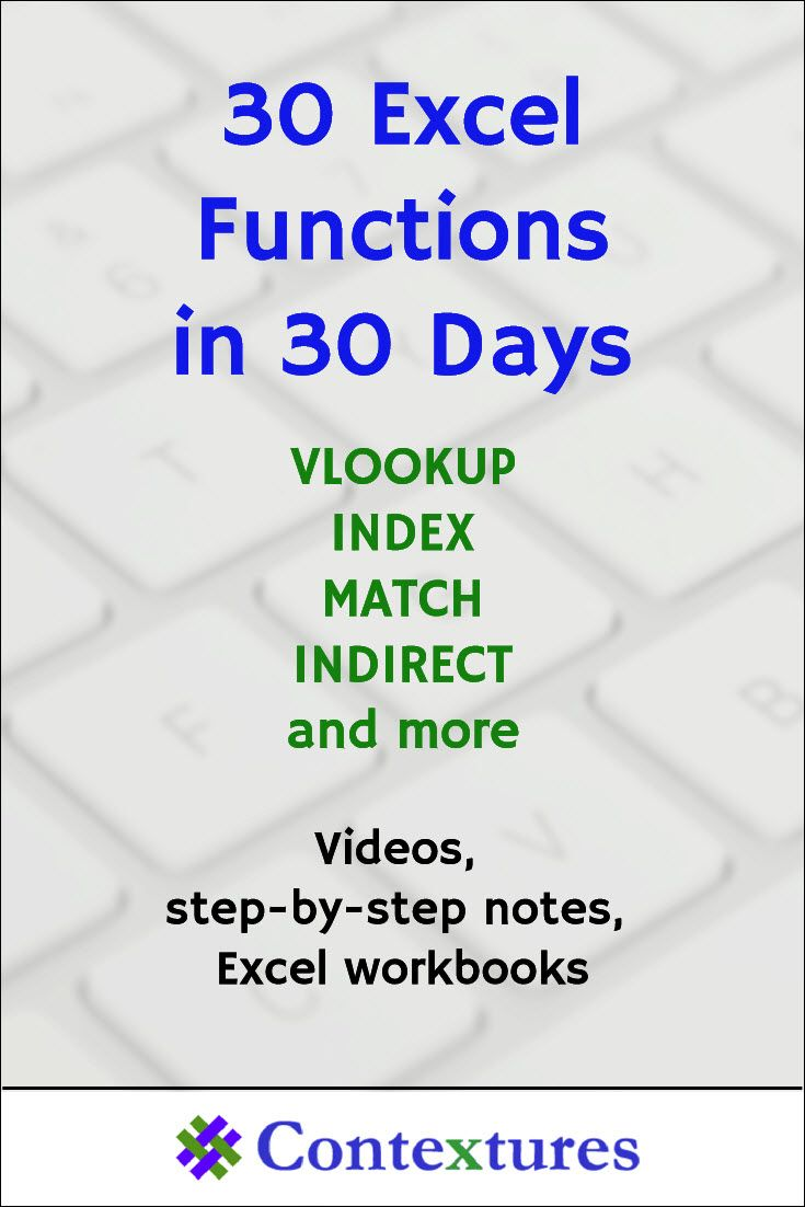 30 Excel Functions in 30 Days: Conclusion | Techie | Microsoft excel