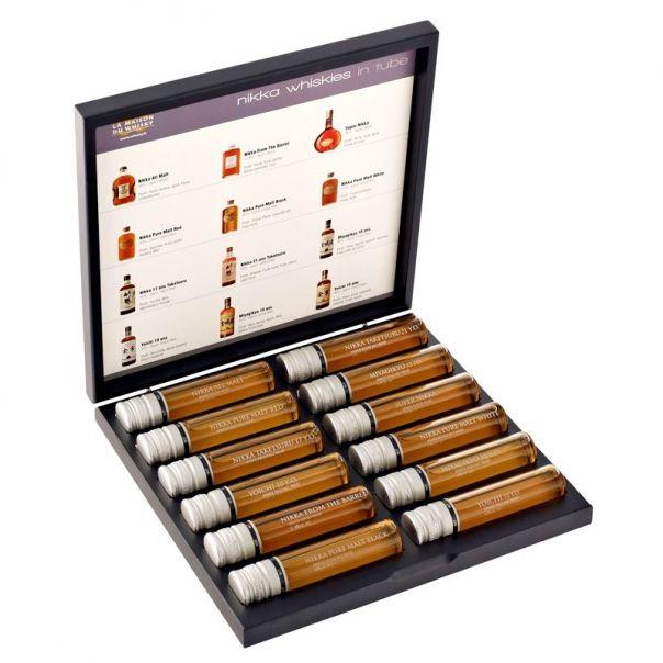 idée cadeau whisky Coffret découverte des whiskies nikka 12 échantillons sur  idée cadeau whisky