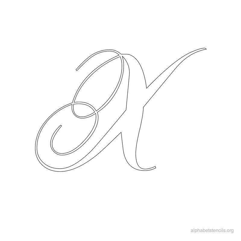 Print free alphabet stencils calligraphy x lettering and fonts alphabet stencils x print alphabets in x letters free printable alphabet stencils letter x for walls and crafts alphabet x spiritdancerdesigns Choice Image