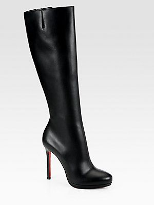 online store 02beb c2a53 Christian Louboutin Botalili Leather Boots | Pump, Pump it ...
