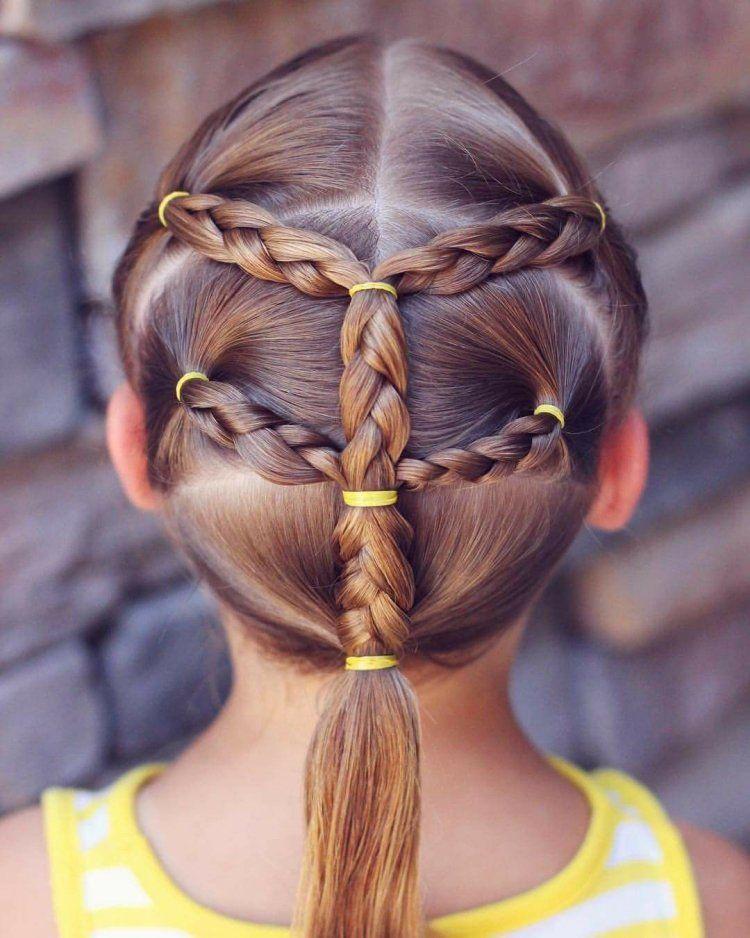 Quelle Coiffure Pour Petite Fille Adopter En Ete 2018 Girl Hair Dos Hair Styles Little Girl Hairstyles