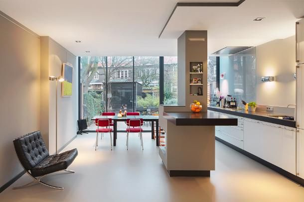 Glazen Pui Woning : Glazen pui jaren 30 woning google zoeken keuken uitbouw