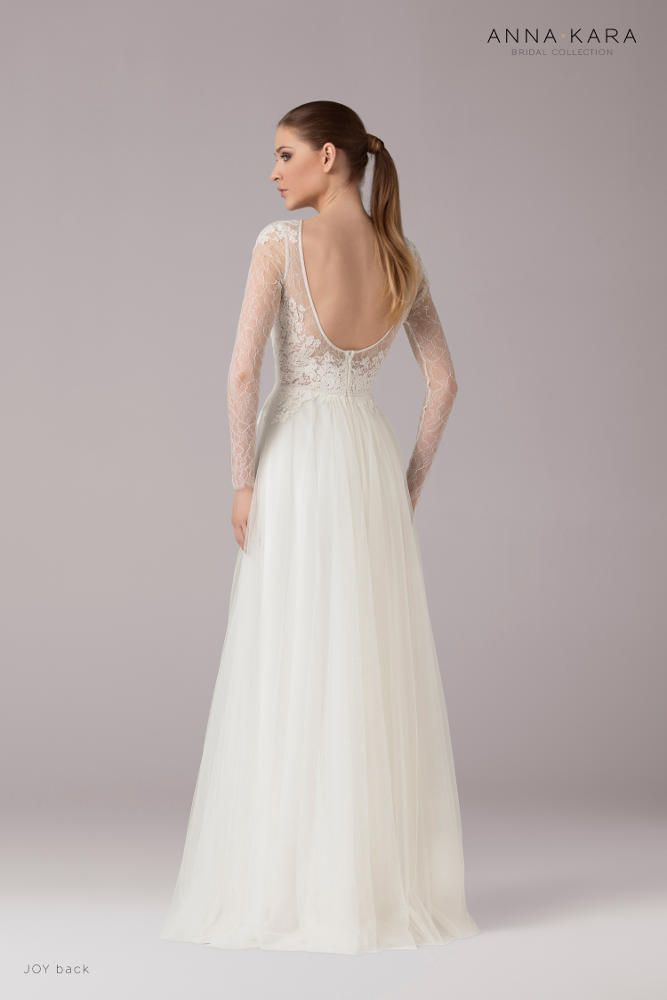 47bd87a9292f1 Wedding dress Robe de mariée Anna Kara Joy chez Plume Paris ...