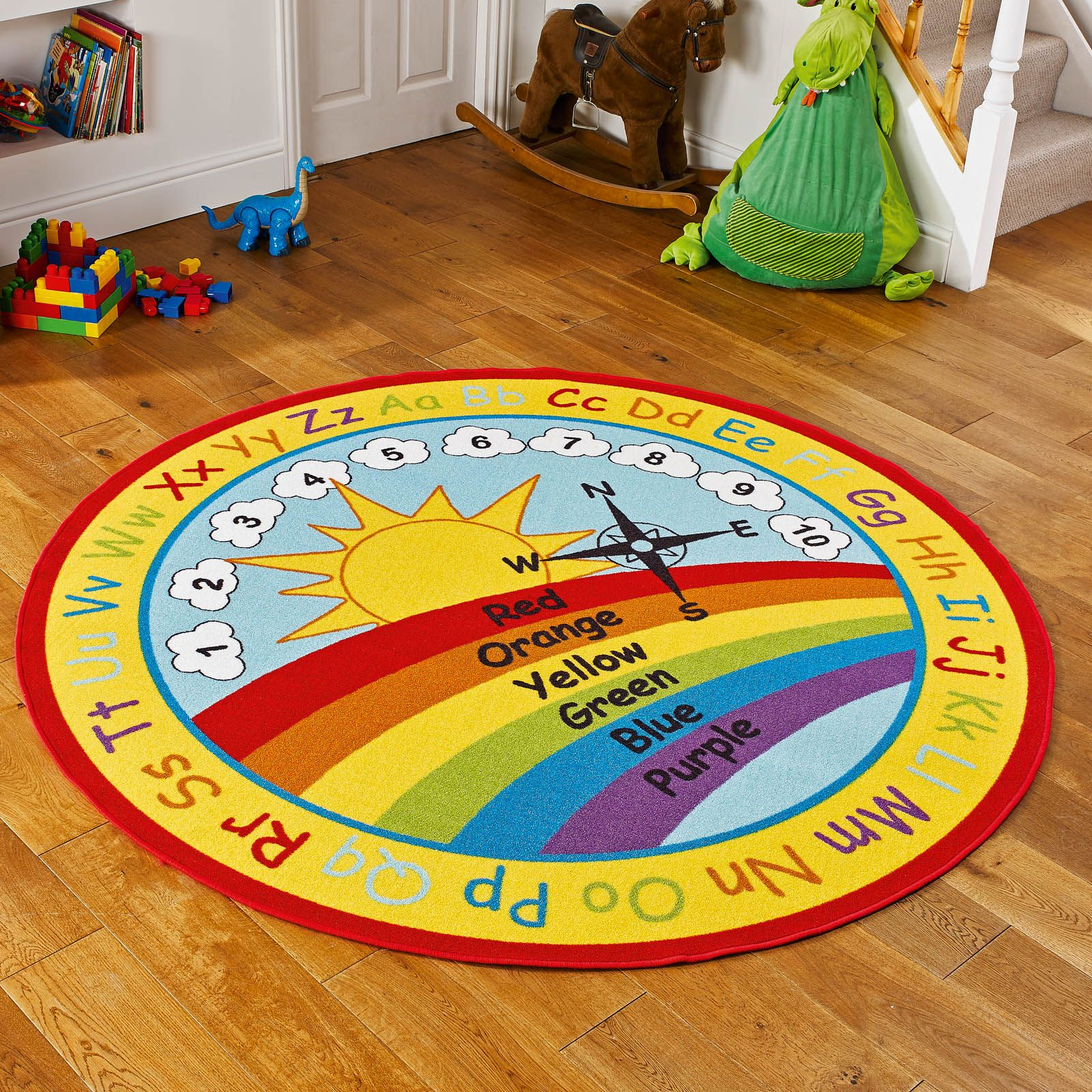 Educational Rugs Cheap: Childrens Rugs Online