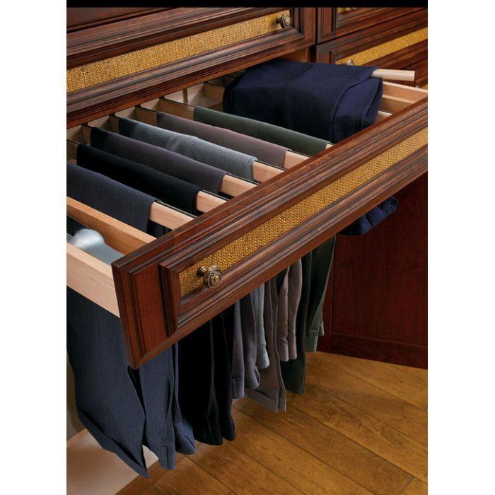 Superb Closet Features That Make Storage A Breeze. Organization IdeasStorage  IdeasPants ...