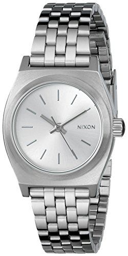 Nixon Womens A3991920 Small Time Teller Watch *** More info could be found at the image url.Note:It is affiliate link to Amazon.