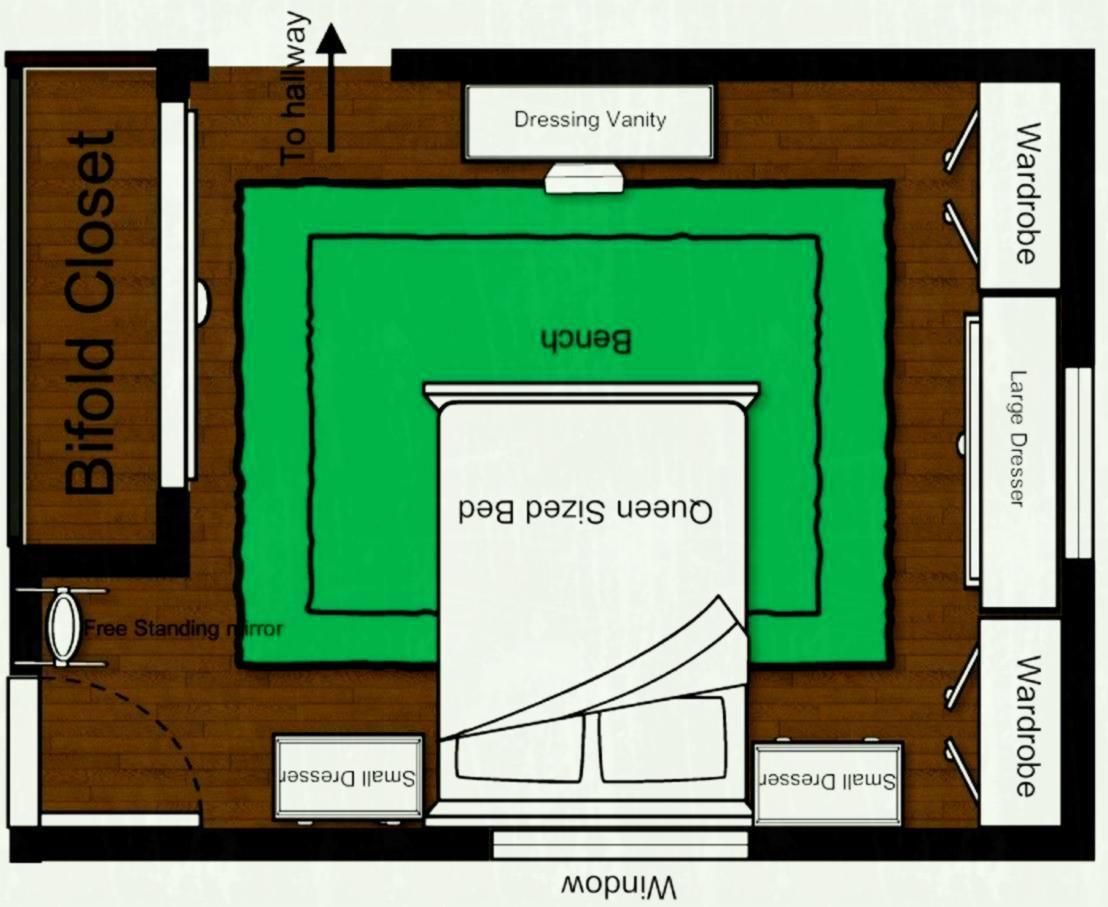 Bedroom Layout Ideas For Rectangular Bedrooms Master Bedroom