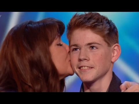 Mother And Son Duo Mel And Jamie Sings A Great Big World S Say