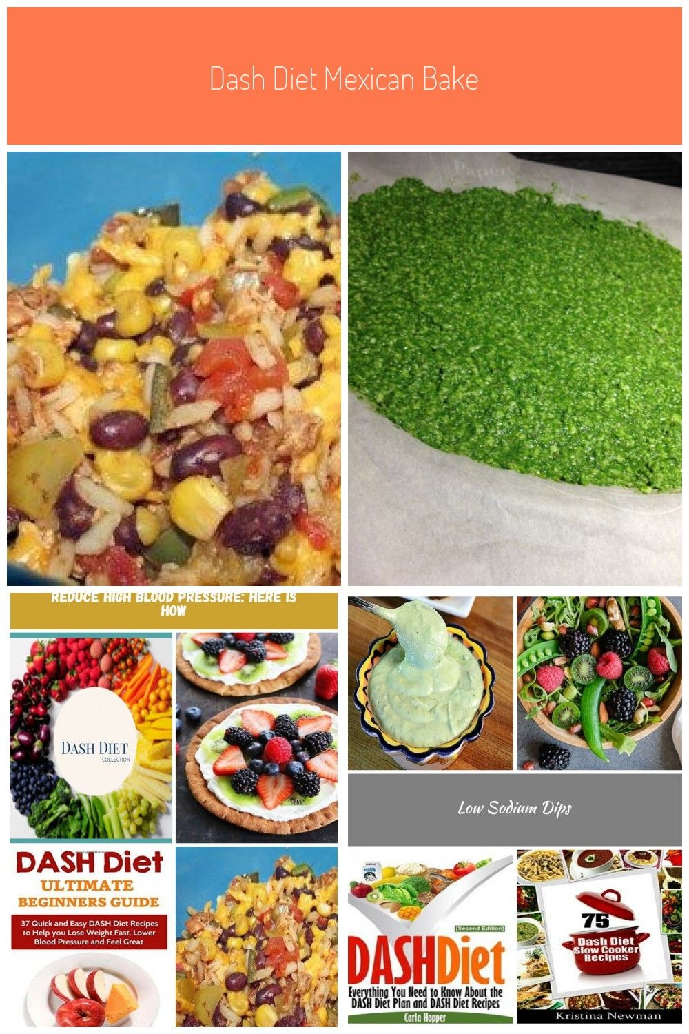 DASH Diet Mexican Bake Recipe  diat DASH Diet Mexican Bake