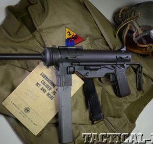 MILITARY RETRO - M3 .45 ACP GREASE GUN   Tactical Life
