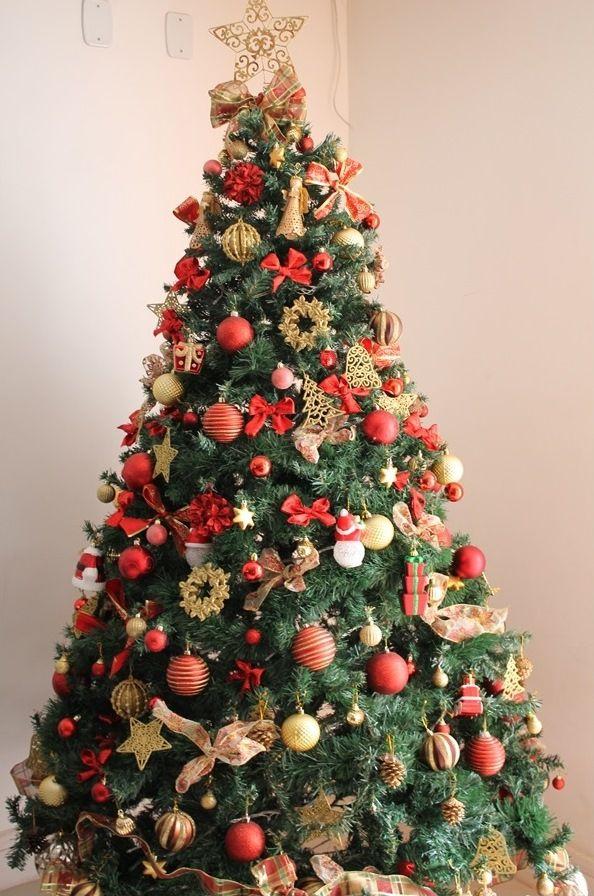 Projeto 6 On 6 Natal Com Imagens Arvores De Natal Decoradas