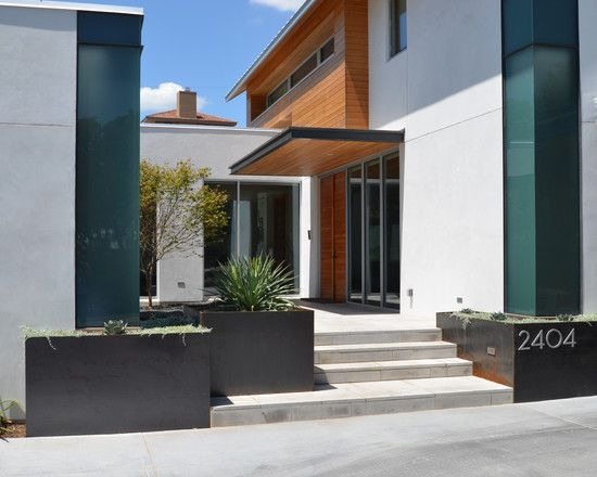 Sara Cukerbaum S Design Ideas Pictures Remodel And Decor Modern Exterior Modern Landscaping Exterior Design