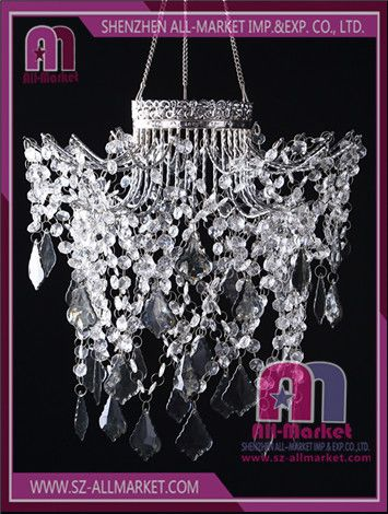 Hanging Beads Chandelier Acrylic Crystal Chandelier Wedding - Chandelier acrylic crystals