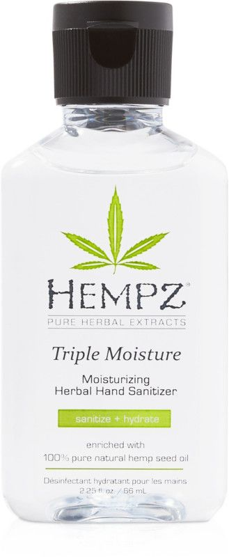 Hempz Travel Size Triple Moisture Moisturizing Hand Sanitizer
