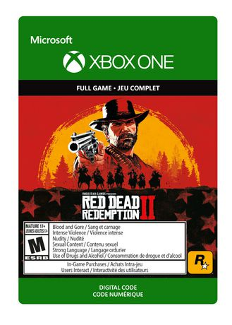 Take Two Interactive Xbox One Red Dead Redemption 2 Download
