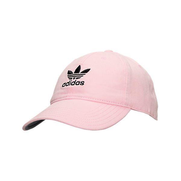 454b317edf22f adidas Originals Precurved Washed Strapback Hat