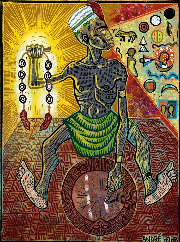 Orula The Orisha Of Divination And Wisdom Saint Francisco Of Assisi