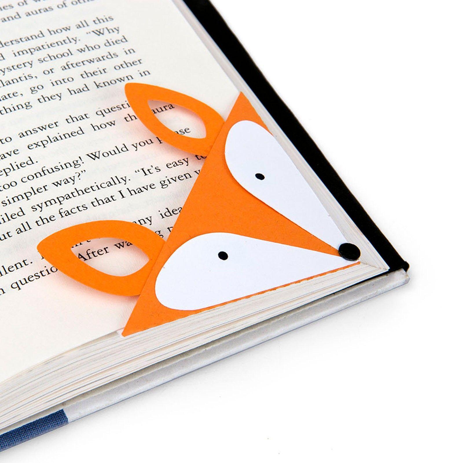 Sizzix Bigz Die - Bookmark, Corner Fox | Sizzix Dies ...