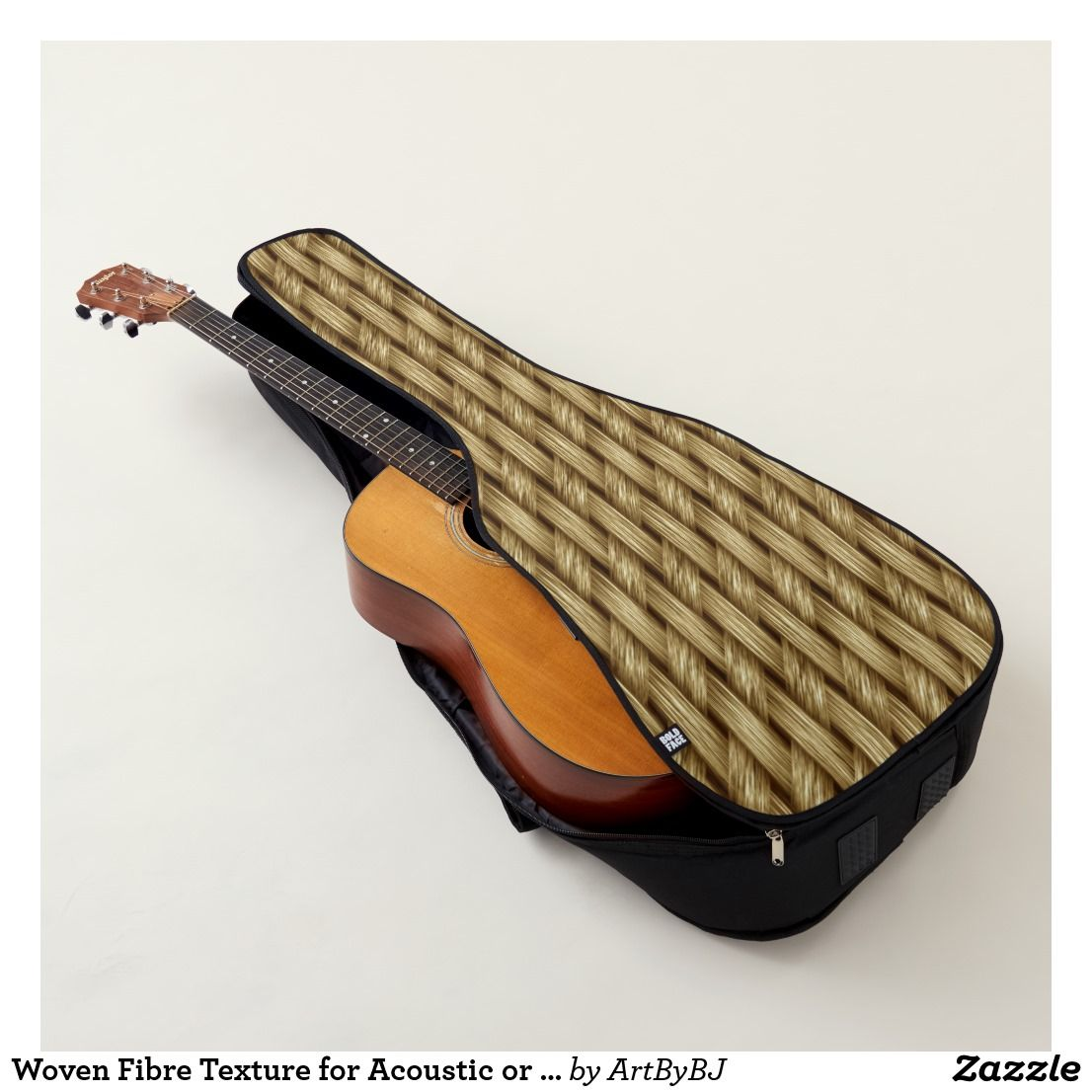 Woven Fibre Texture For Acoustic Or Electric Guitar Case You Can Order This
