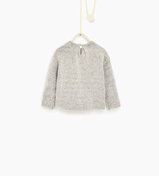 Image 2 of Pleated sweater from Zara